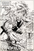 """Original Comic Art:Complete Story, Stan Woch and Ron Randall Swamp Thing V2#43 Complete 23-PageStory """"Windfall"""" Original Art (DC, 1985).... (Total: 23 OriginalArt)"""