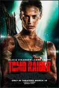 "Movie Posters:Action, Tomb Raider (Warner Brothers, 2018). One Sheet (27"" X 40"") DSAdvance. Action.. ..."