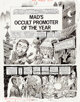 "Jack Davis MAD #232 Complete 4-Page Story ""Mad's Occult Promoter Of The Year"" Original Art (EC, 1982)... (4)"