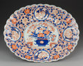 Asian:Japanese, A Japanese Imari Porcelain Platter with Fluted Rim, 19th century .2-7/8 x 18-1/2 x 15-1/4 inches (7.3 x 47.0 x 38....