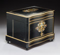 Decorative Arts, French:Other , A French Napoleon III Brass, Copper, and Mother-of-Pearl I...