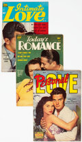 Golden Age (1938-1955):Romance, Comic Books - Assorted Golden Age Romance Comics Group of 6(Various Publishers, 1950s) Condition: Average VG+.... (Total: 6Comic Books)