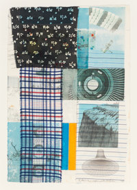 Robert Rauschenberg (1925-2008) Study for Arcanum, 1979 Mixed media with collage on paper 22-3/8