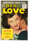 Silver Age (1956-1969):Romance, Real Love #75 (Ace Periodicals, 1956) Condition: VF....