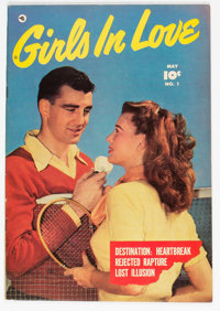 Girls In Love #1 (Fawcett Publications, 1950) Condition: VF+