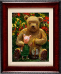 Animation Art:Seriograph, Winnie the Pooh and Piglet Peter Ell...