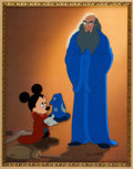 "Animation Art:Limited Edition Cel, Fantasia ""A Lesson Learned"" Limited Edition Cel (WaltDisney, 1999)...."