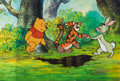Animation Art:Production Cel, The New Adventures of Winnie the Pooh 3-Character ProductionCel (Walt Disney, 1988)....