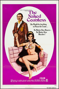 "The Naked Countess & Other Lot (Crown International, 1971). One Sheets (2) (27"" X 41""). Exploitation..."
