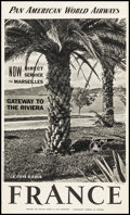 Movie Posters:Miscellaneous, La Cote d'Azur, France (French Ministry of Travel, Late 19...