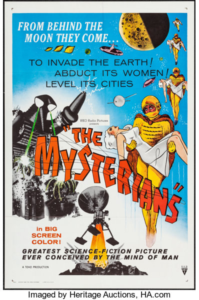 One Sheets Movie PostersScience Fiction The Mysterians RKO 1959