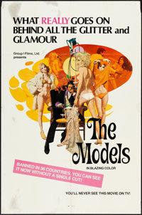 "The Models & Other Lot (Group 1, 1973). One Sheets (2) (27"" X 41"") Robert McGinnis Artwork. Alternate Titl..."