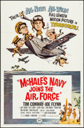 "Movie Posters:Comedy, McHale's Navy Joins the Air Force (Universal, 1965). Folded, Very Fine. One Sheet (27"" X 41""). Comedy.. ..."