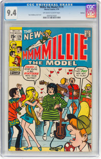 Millie the Model #179 Oakland Pedigree (Marvel, 1970) CGC NM 9.4 Off-white to white pages