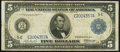 Fr. 860 $5 1914 Federal Reserve Note Very Good-Fine