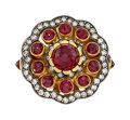 Estate Jewelry:Rings, Ruby, Diamond, Gold Ring, Gio. ...