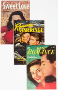 Golden Age (1938-1955):Romance, Photo Cover Romance Comics Group of 11 (Various, 1940s-50s)Condition: Average FN-.... (Total: 11 Comic Books)