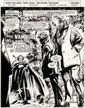 Original Comic Art:Complete Story, Gene Colan and Tom Palmer Tomb of Dracula #37 Complete 18-Page Story Original Art (Marvel, 1975).... (Total: 19 Original Art)
