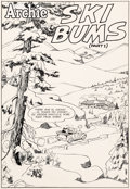 """Original Comic Art:Complete Story, Harry Lucey and Terry Szenics Archie #145 Complete 11-PageStory """"Ski Bums"""" Original Art (Archie, 1964).... (Total: 11 Items)"""