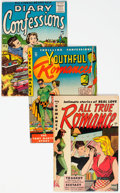 Golden Age (1938-1955):Romance, Romance Comics Group of 17 (Various, 1950s) Condition: AverageFN+.... (Total: 17 Comic Books)