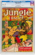 Golden Age (1938-1955):Adventure, Jungle Comics #7 (Fiction House, 1940) CGC FN+ 6.5 Cream to off-white pages....
