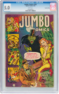 Golden Age (1938-1955):Horror, Jumbo Comics #163 Canadian Edition (Fiction House, 1952) CGC VG/FN 5.0 White pages....