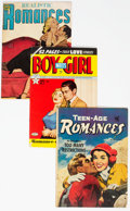 Golden Age (1938-1955):Romance, Painted Cover Romance Group of 4 (Various, 1950s).... (Total: 4Comic Books)