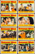 "Movie Posters:Adventure, Elephant Walk (Paramount, 1954). Fine/Very Fine. Lobby Card Set of 8 (11"" X 14""). Adventure.. ... (Total: 8 Items)"