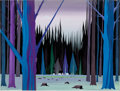 Animation Art:Concept Art, Paul Bunyan Concept Painting by Eyvind Earle (Walt Disney, 1958)....