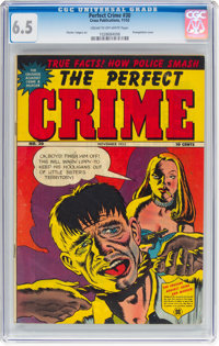 Perfect Crime #30 (Cross Publications, 1952) CGC FN+ 6.5 Cream to off-white pages