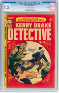 Golden Age (1938-1955):Crime, Kerry Drake Detective Cases #24 File Copy (Harvey, 1951) CGC VF- 7.5 Tan to off-white pages....