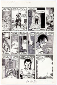 George Perez and Jack Abel The Deadly Hands of Kung Fu #19 Page 65 Original Art (Marvel, 1975)