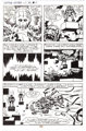Jack Kirby and Mike Thibodeaux Captain Victory and the Galactic Rangers #8 Page 19 Original Art (Pacific Comics, 1... (1...