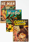 Platinum Age (1897-1937):Miscellaneous, Ziff-Davis Golden Age Comics Group of 5 (Ziff-Davis, 1950s)Condition: Average VG.... (Total: 5 Comic Books)