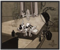 "Animation Art:Limited Edition Cel, The Mad Doctor ""Mickey in Peril"" Limited Edition Cel #10/23(Walt Disney, 2009)...."