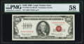 Small Size:Legal Tender Notes, Fr. 1550 $100 1966 Legal Tender Note. PMG Choice About Unc 58.. ...