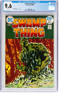 Bronze Age (1970-1979):Horror, Swamp Thing #9 (DC, 1974) CGC NM+ 9.6 White pages....