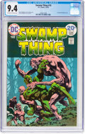 Bronze Age (1970-1979):Horror, Swamp Thing #10 (DC, 1974) CGC NM 9.4 Off-white to white pages....