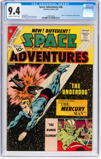 Space Adventures #44 (Charlton, 1962) CGC NM 9.4 Off-white to white pages