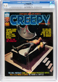 Magazines:Horror, Creepy #69 (Warren, 1975) CGC NM/MT 9.8 Off-white to white pages....