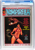 Magazines:Horror, Vampirella #37 (Warren, 1974) CGC NM+ 9.6 Off-white to white pages....