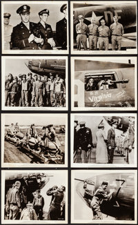 """The Memphis Belle (Paramount, 1944). Fine/Very Fine. Photos (13) (Approx. 8"""" x 10""""). War. ... (Total: 13 Items..."""