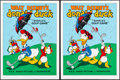 "Movie Posters:Animation, Donald's Golf Game (Circle Fine Art, R-1980s). Fine Art Serigraphs(5) (Identical) (22.5"" X 30.5""). Animation... (Total: 5 Items)"