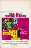 """Movie Posters:Hitchcock, Torn Curtain (Universal, 1966). Window Card (14"""" X 22""""). Hitchcock.. ..."""