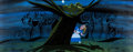 Animation Art:Concept Art, Alice in Wonderland Cheshire Cat Concept Painting by MaryBlair (Walt Disney, 1951)....