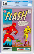 Silver Age (1956-1969):Superhero, The Flash #139 (DC, 1963) CGC VF/NM 9.0 Off-white to white pages....