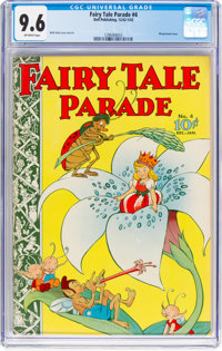 Fairy Tale Parade #4 (Dell, 1942) CGC NM+ 9.6 Off-white pages