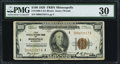 Fr. 1890-I $100 1929 Federal Reserve Bank Note. PMG Very Fine 30