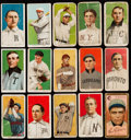 Baseball Cards:Lots, 1909-11 T205 &T206 Tobacco Card Collection (14). ...