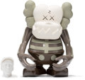 Fine Art - Sculpture, American:Contemporary (1950 to present), KAWS (b. 1974). Skull Kun (Brown), 2006. Painted cast vinyl.6-1/2 x 5-1/4 x 3-1/4 inches (16.5 x 13.3 x 8.3 cm) (toy). ...